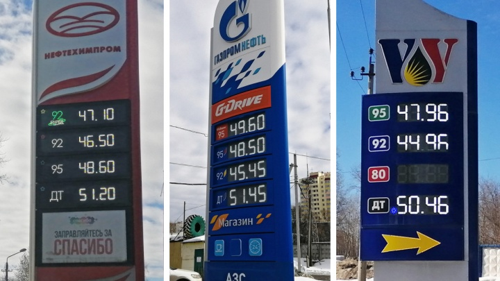 УФАС меня побери. Сравниваем стоимость бензина и дизельного топлива на пермских АЗС