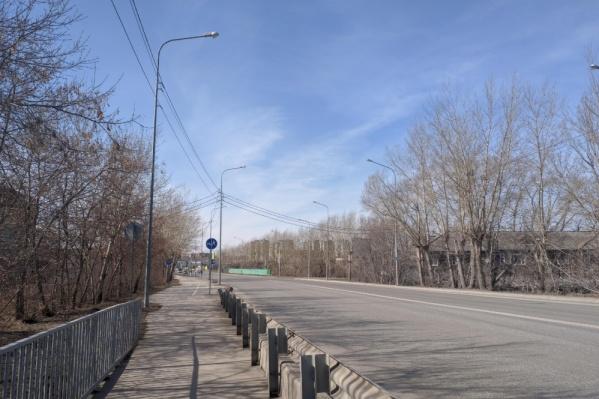 Разрешения на вырубку деревьев на Дамбовской не выдавалось