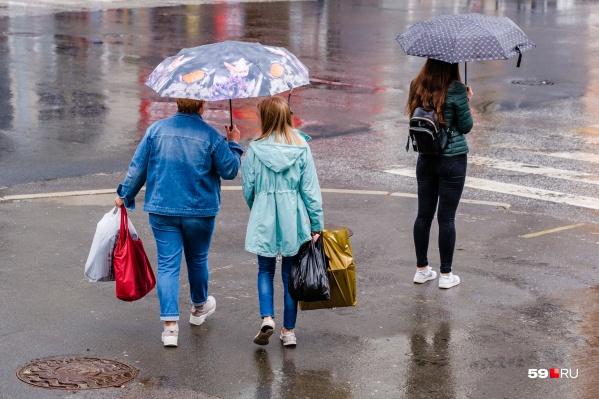 Похолодание может сопровождаться дождями