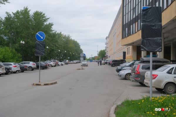 Проезд возле здания бывшего ВКИУ закроют в субботу, 29 мая, в 18:00