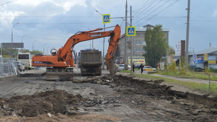 На перекрестке Героев Хасана и Васильева в Перми ограничат движение
