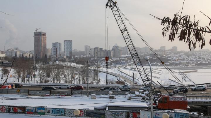В мэрии Уфы предложили использовать Набережную для объезда развязки на Валиди — Юлаева