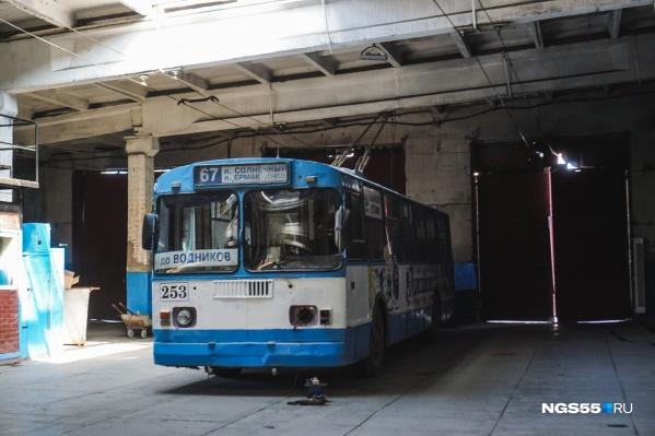 Скоро мы вновь увидим знакомую табличку на троллейбусах
