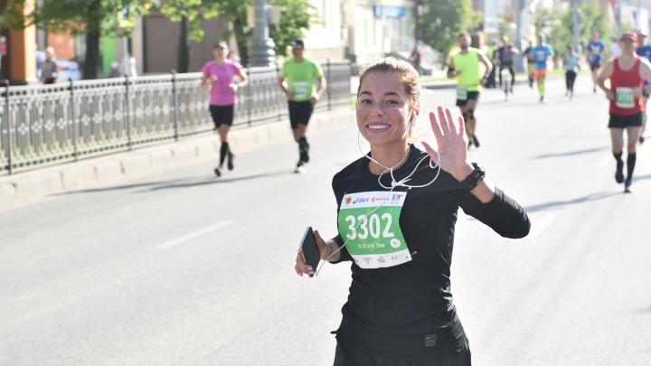 Кому марафон, а кому пробки: центр Екатеринбурга перекроют на несколько часов ради бегунов
