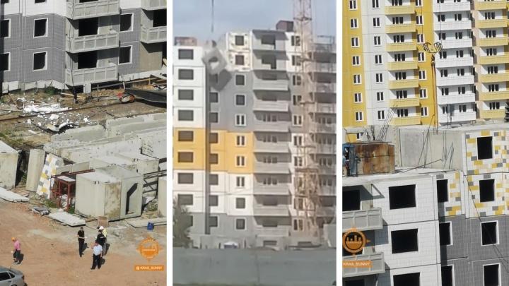 «Крик в ушах стоит»: в Солнечном на стройке рабочий сорвался с 11-го этажа вместе с бетонной плитой