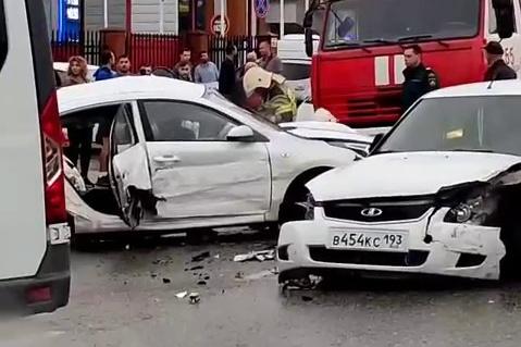 Все погибшие находились в одной машине