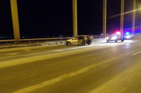 Водитель и два пассажира Renault госпитализированы
