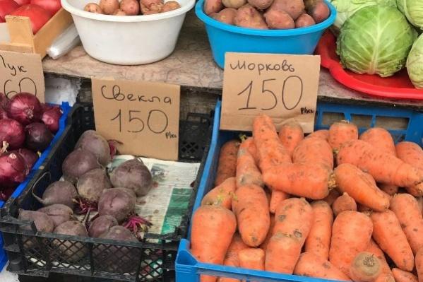 Космические цены на овощи народ заметил еще в мае