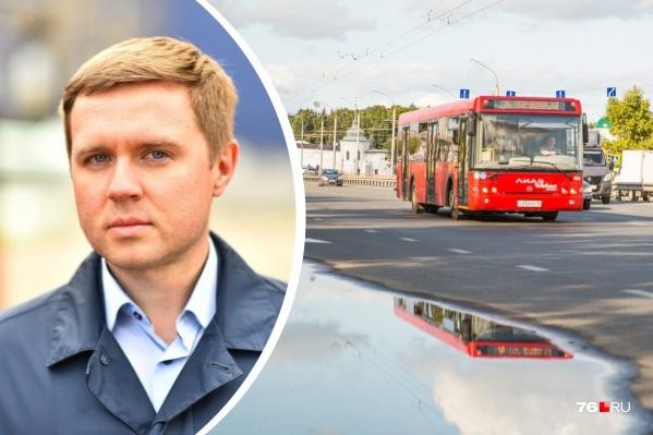"""Сергей Волканевский рассказал о новой транспортной схеме, которая начнет действовать летом <nobr class=""""_"""">2021 года</nobr>"""
