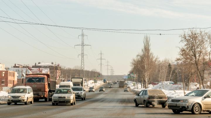 В Самаре предложили провести реконструкцию Красноглинского шоссе