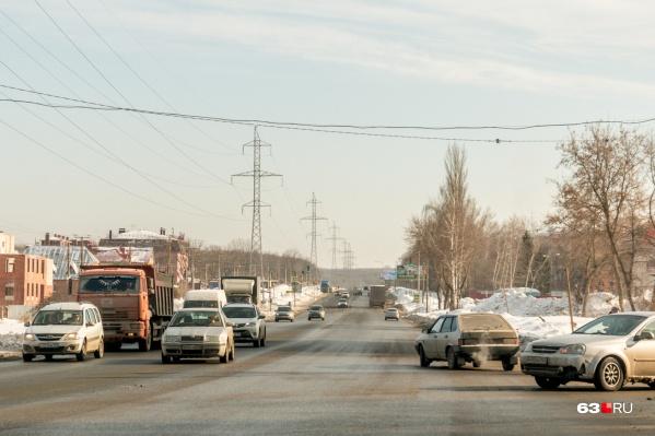 Участок от моста через реку Сок до Волжского шоссе отремонтировали пару лет назад