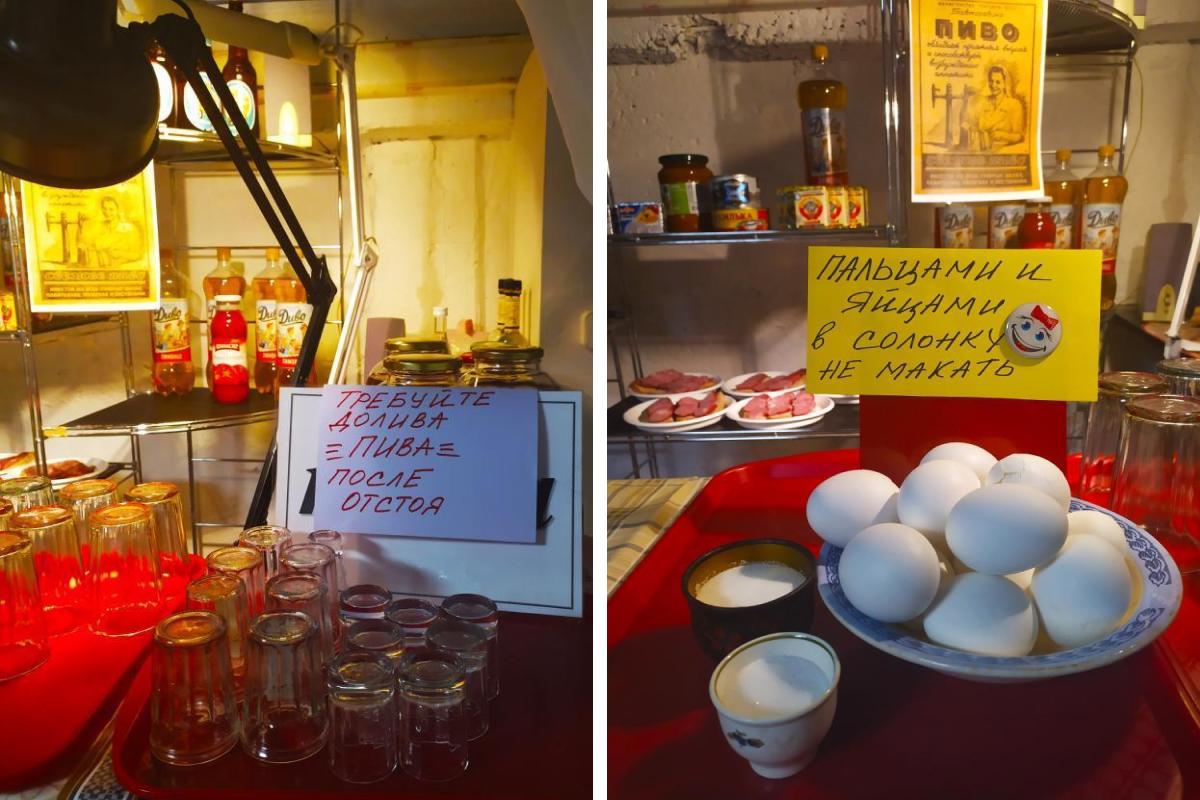 На работе можно перекусить бутербродами и вареными яйцами
