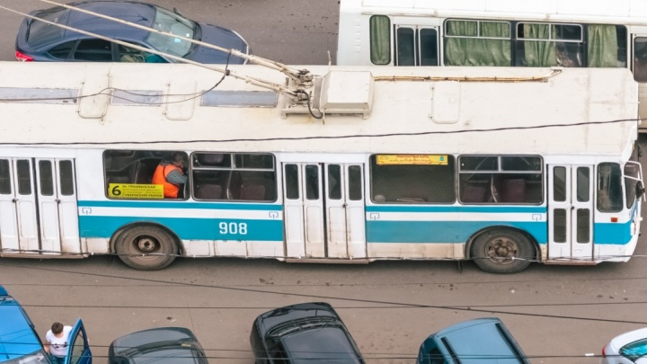 В Самаре сократят маршрут движения троллейбуса № 6