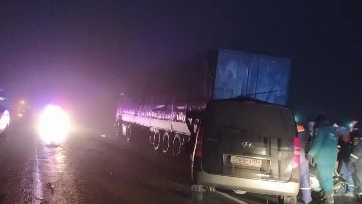 Минивэн с двумя семьями разбился в Ростовской области: погибли четверо взрослых, дети — в больнице