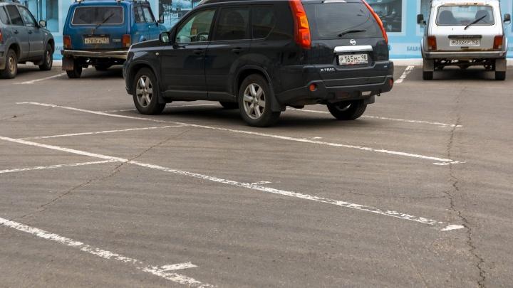 В квартале за ТЦ «Амбар» предложили оставить парковку только для «избранных»