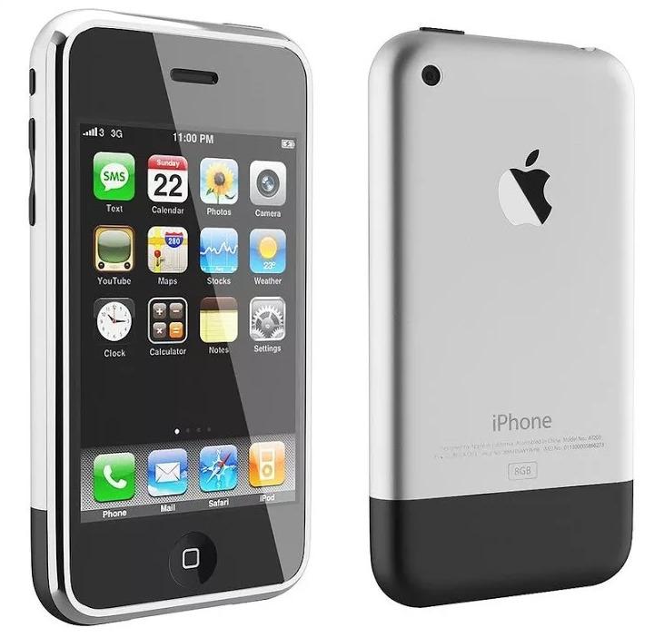 Apple iPhone 2G, 2007 год