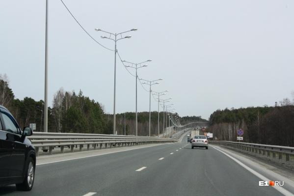 Скорость на трассе снизят из-за колейности