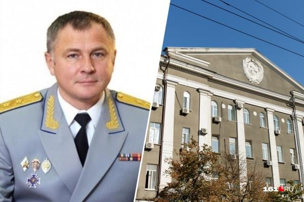 Игорь Голдобин в органах безопасности с 1994 года