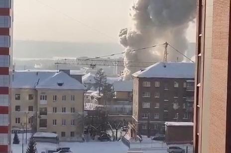 На Садовой загорелся жилой дом — пожарные успели вынести газовый баллон