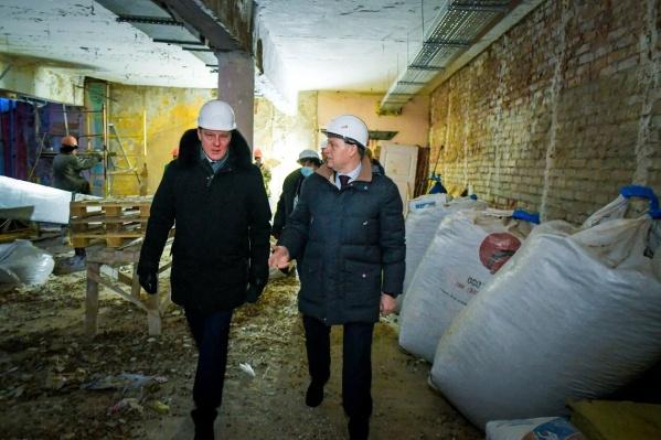 В результате работ площадь дворца увеличится на 10 тысяч квадратных метров