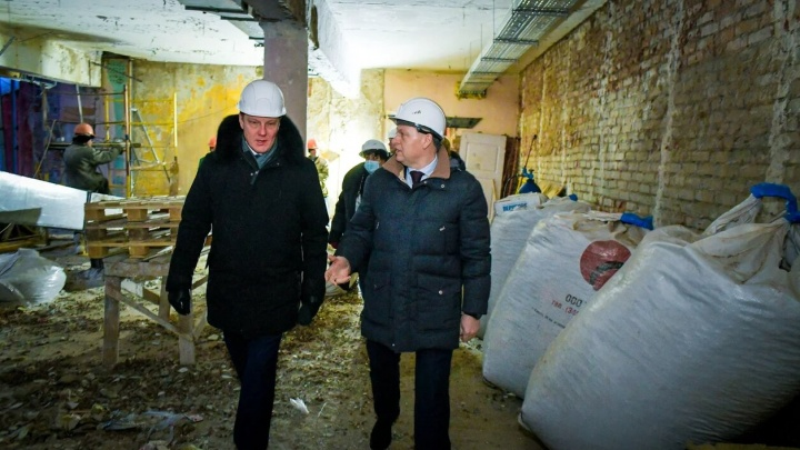 Алексей Дёмкин показал, как будет выглядеть Дворец молодежи после реконструкции
