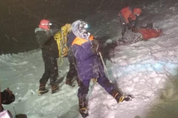 Когда начался буран, туристы попросили у МЧС помощи с эвакуацией