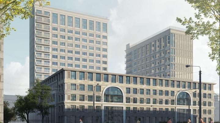 У площади Маркса решили построить первый частный кампус для студентов — выглядит необычно, но эксперты недовольны
