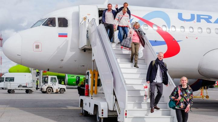 Росавиация разрешила полеты из Перми в Египет и другие страны шести авиакомпаниям