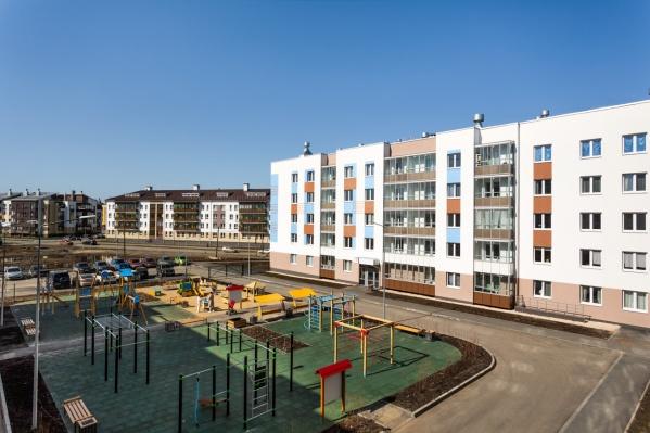 Малоэтажные кварталы европейского плана стали популярны среди горожан
