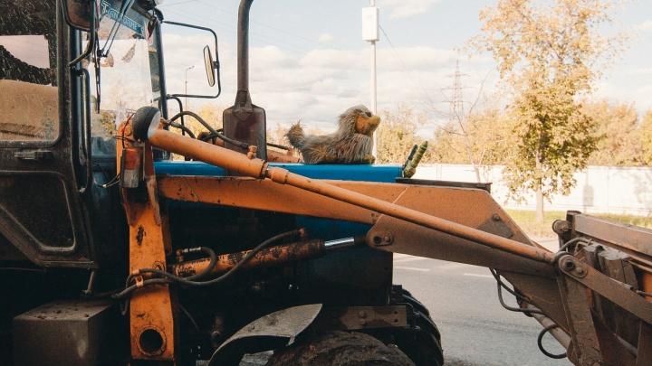 Прокуратура нашла нарушения в работе штрафстоянки, куда забрали трактор тюменского фермера
