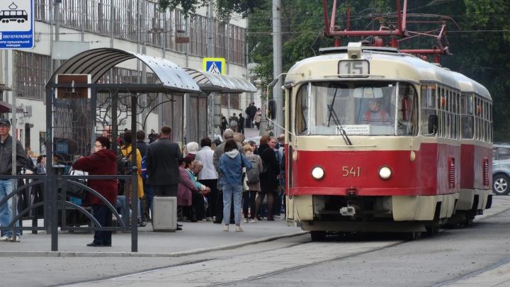 По улице 8 Марта временно перестанут ходить трамваи