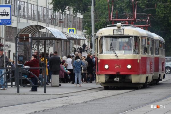 Трамваи перестанут ходить из-за ремонта путей