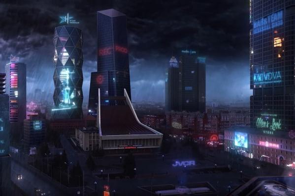 Таким, по мнению авторов фильма, будет выглядеть Омск после апокалипсиса