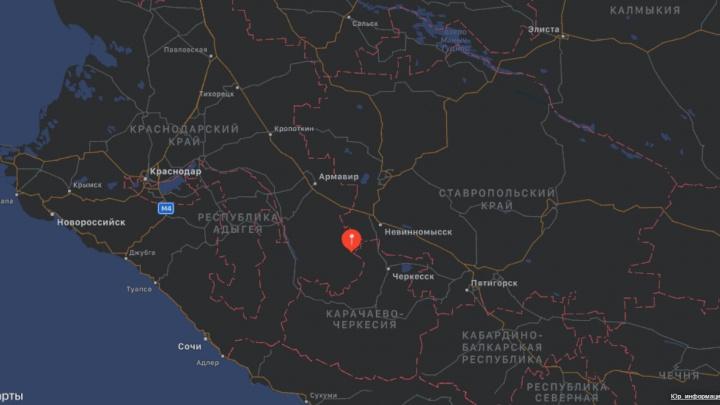 На Кубани произошло землетрясение