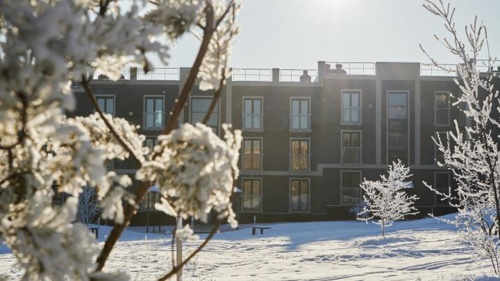 Чистый воздух, белый снег: экологичное жилье стало доступно в ипотеку под 1,9% годовых