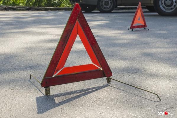 Водитель КАМАЗа не уступил дорогу и столкнулся с «Ладой-Гранта»