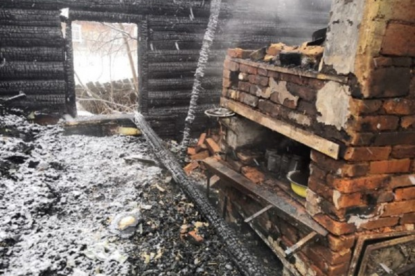 Возгорание началось на кухне