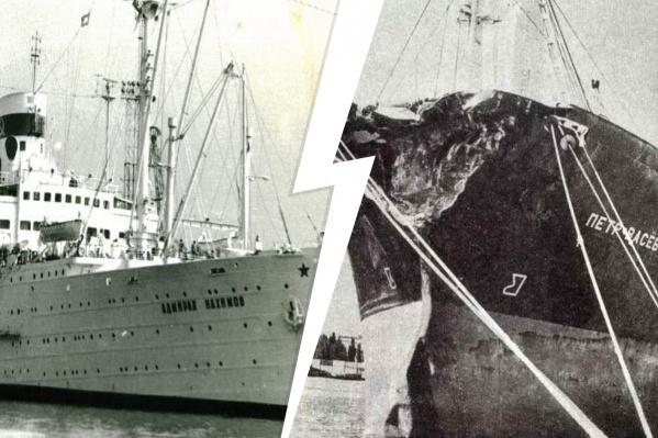 Пароход ходил по морям и океанам 60 лет, прежде чем столкнуться с сухогрузом «Петр Васёв»