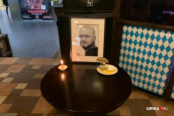 ПортретАлександра Елисеева разместили на входе ресторана