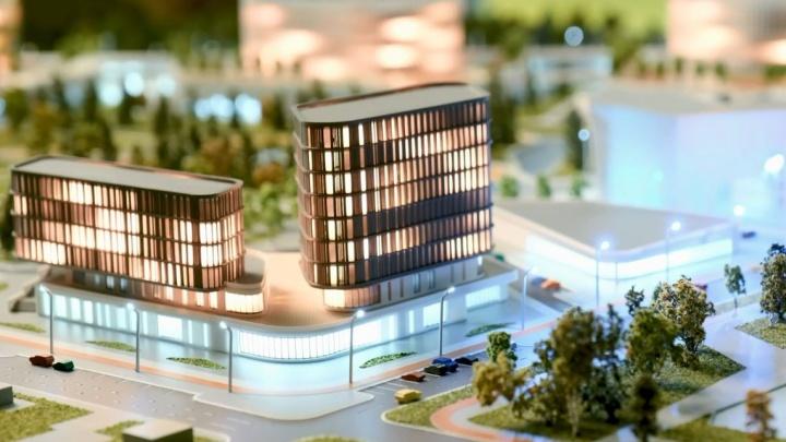 На Широкой Речке возведут девятиэтажный образовательный центр. Публикуем рендеры