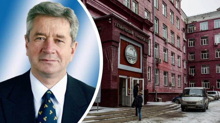 Путин присвоил почетное звание профессору из НГТУ