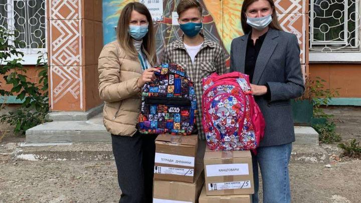 Сибуровцы помогли детям из малообеспеченных семей собраться в школу