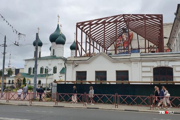 Здание значительно увеличится по площади