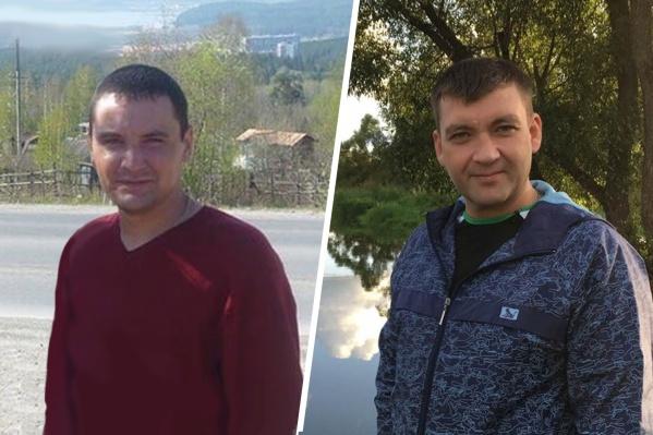 Николай Зубов из Челябинской области (слева) и Дмитрий Горшняк из Донецкой Республики (справа), погибли в один день при обрушении шахты