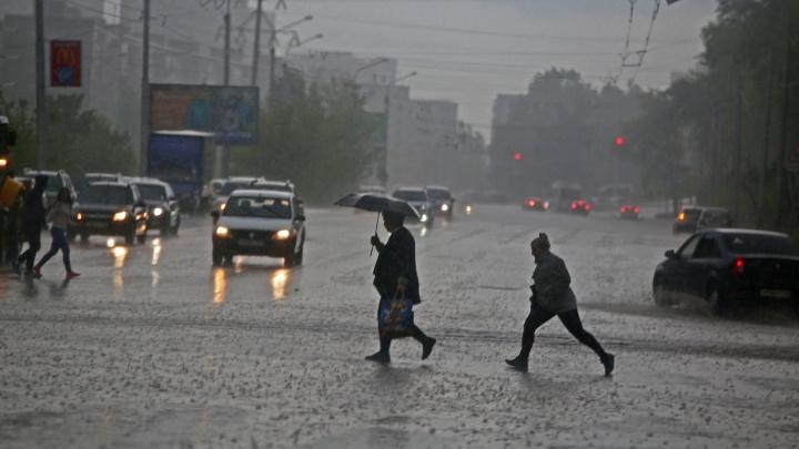 На Башкирию обрушился шторм. В некоторых районах ветром снесло крыши домов