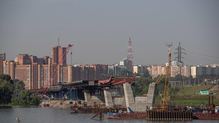 В Новосибирске разрешили построить трамвайные пути рядом с четвертым мостом