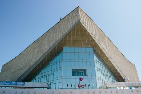 Здание спортивно-концертного комплекса строили почти 10 лет