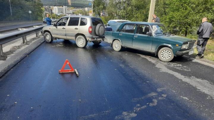 В Челябинской области столкнулись 19 машин