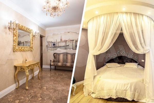 В таком стиле делают всю квартиру или отдельные комнаты
