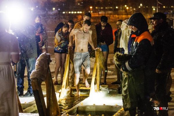 В епархии объяснили, почему купание в проруби не отпустит грехи